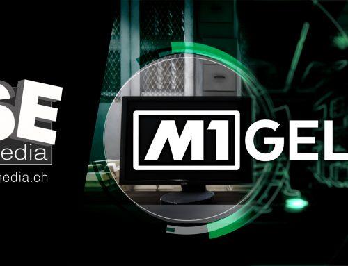 "Tele M1 Opener der Sendung ""Geld"""