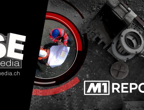 "Tele M1 Opener der Sendung ""Report"""
